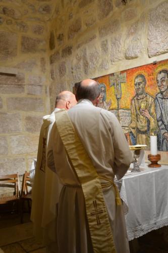 Sept 12 Mass at St Jerome chapel (18)