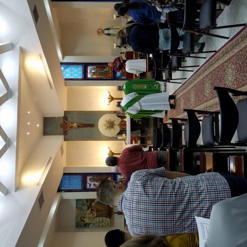 Sep 8 Mass at St. Marys in Amman (10)