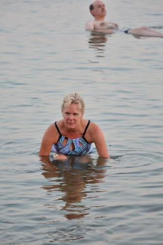 SEP 11 Floating in the Dead Sea at the Hilton (62)