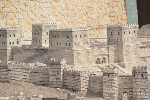 SEpt 13 Scale Model of Jerusalem at Jesus Time (12)