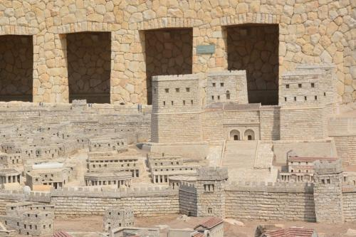 SEpt 13 Scale Model of Jerusalem at Jesus Time (14)