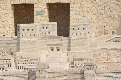 SEpt 13 Scale Model of Jerusalem at Jesus Time (15)
