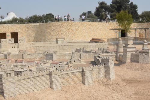 SEpt 13 Scale Model of Jerusalem at Jesus Time (17)