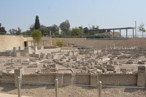 SEpt 13 Scale Model of Jerusalem at Jesus Time (2)