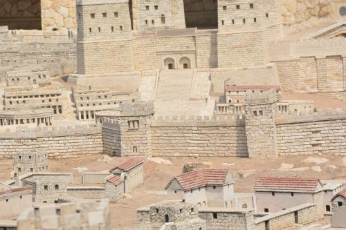SEpt 13 Scale Model of Jerusalem at Jesus Time (20)