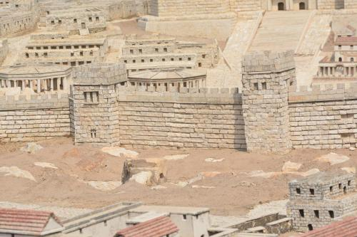 SEpt 13 Scale Model of Jerusalem at Jesus Time (26)