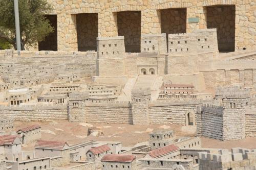 SEpt 13 Scale Model of Jerusalem at Jesus Time (27)