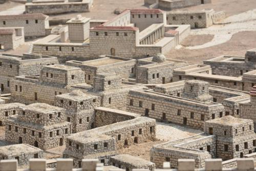 SEpt 13 Scale Model of Jerusalem at Jesus Time (3)