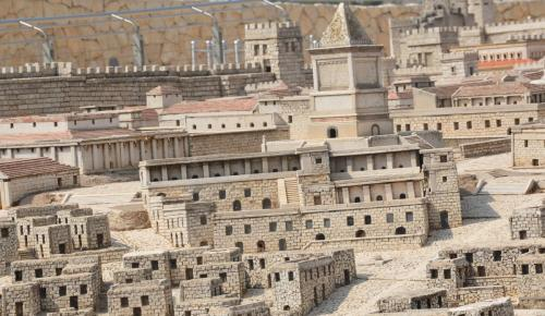 SEpt 13 Scale Model of Jerusalem at Jesus Time (34)