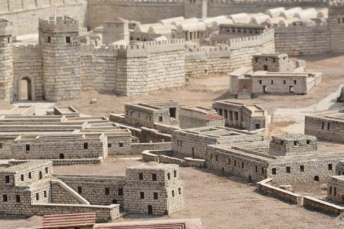 SEpt 13 Scale Model of Jerusalem at Jesus Time (4)