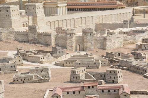 SEpt 13 Scale Model of Jerusalem at Jesus Time (5)