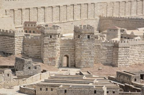 SEpt 13 Scale Model of Jerusalem at Jesus Time (6)