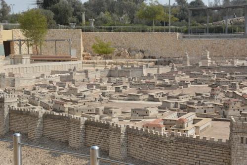 SEpt 13 Scale Model of Jerusalem at Jesus Time (7)