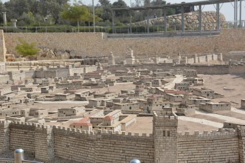SEpt 13 Scale Model of Jerusalem at Jesus Time (8)