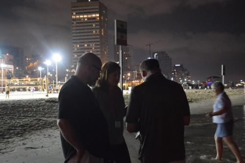 SEp 17 Night time in Tel Aviv on Mediteranean sea (19)