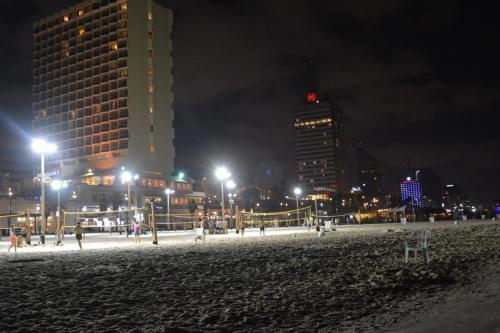 SEp 17 Night time in Tel Aviv on Mediteranean sea (21)