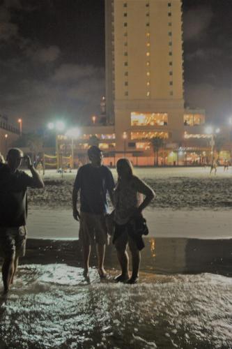 SEp 17 Night time in Tel Aviv on Mediteranean sea (27)