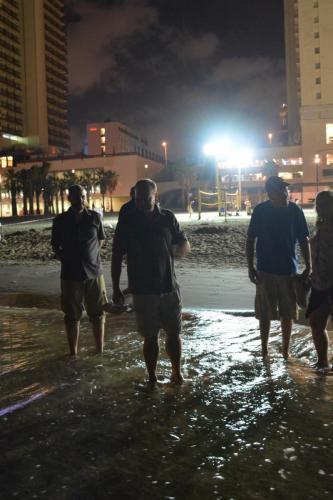 SEp 17 Night time in Tel Aviv on Mediteranean sea (28)