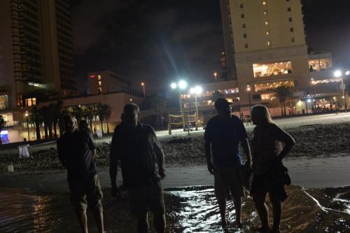 SEp 17 Night time in Tel Aviv on Mediteranean sea (29)