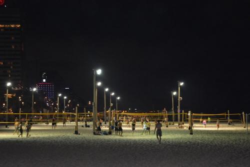 SEp 17 Night time in Tel Aviv on Mediteranean sea (6)