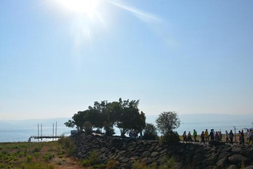 SEP 16 Boat Ride on Sea of Galilee and ancient boat (16)