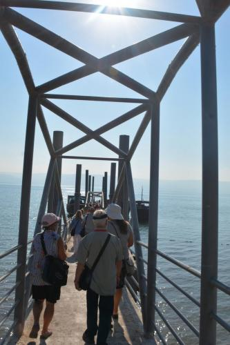 SEP 16 Boat Ride on Sea of Galilee and ancient boat (33)