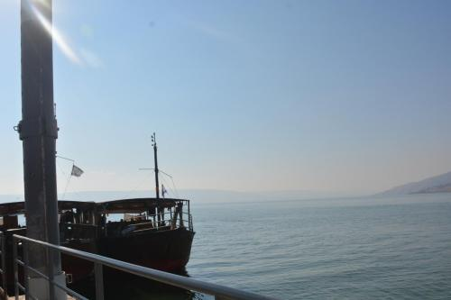 SEP 16 Boat Ride on Sea of Galilee and ancient boat (35)