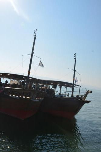 SEP 16 Boat Ride on Sea of Galilee and ancient boat (37)