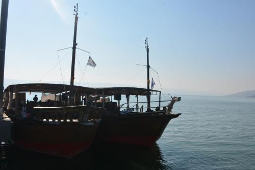 SEP 16 Boat Ride on Sea of Galilee and ancient boat (38)