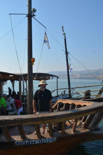 SEP 16 Boat Ride on Sea of Galilee and ancient boat (41)