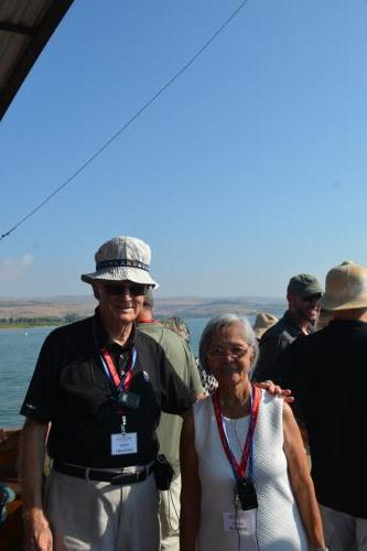 SEP 16 Boat Ride on Sea of Galilee and ancient boat (51)