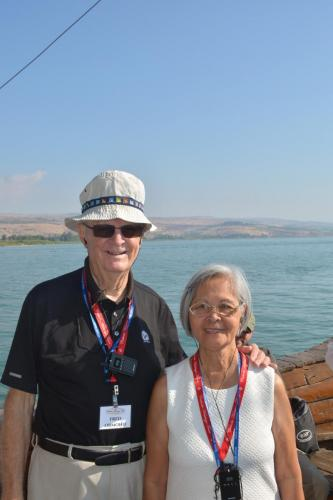 SEP 16 Boat Ride on Sea of Galilee and ancient boat (54)